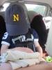 Worn out Navy Fan