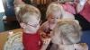 Carter sharing Donuts 2