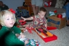 Opening Gifts with Cousins
