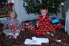 Opening Gifts from Santa
