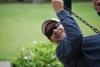 Dad Swinging