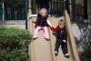 Kate and Carter Sliding